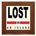 LOST Framed Tile
