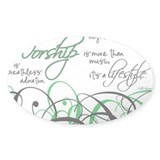 Worship Decal
