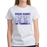 PROUD NANNY OF TWINS  T
