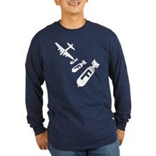Dropping F Bombs Long Sleeve T-Shirt