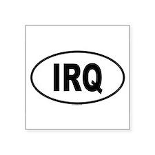 IRQ Oval Sticker