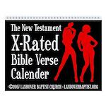 2013 X-Rated Bible Verse Calendar