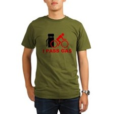 I PASS GAS Bicyclis T-Shirt