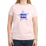 Oliver Rules Women's Pink T-Shirt