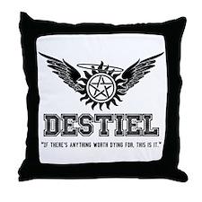 Destiel Quote Series 29 Throw Pillow