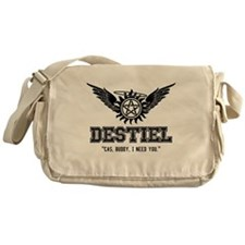 Destiel Quote Series 19 Messenger Bag