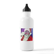 Santa Water Bottle