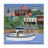 Annapolis View Tile Coaster