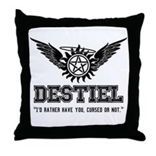 Destiel Quote Series 3 Throw Pillow