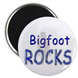 "Bigfoot Rocks 2.25"" Magnet (100 pack)"