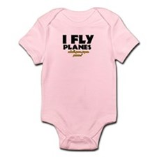 I Fly Planes what's your super power Onesie