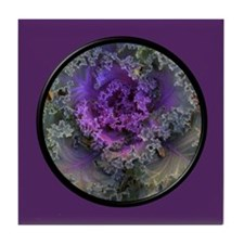 Cabbage Tile Coaster