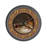 Poet & Peasant Wall Clock