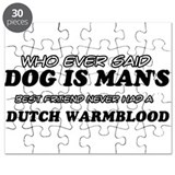 Dutch Warm Blood Designs Puzzle