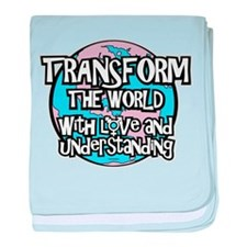 TRANSform The World baby blanket
