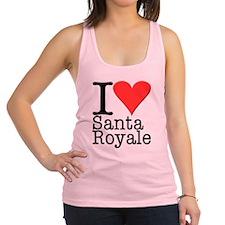 Love Santa Royale Racerback Tank Top