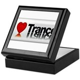 i Love Trance Keepsake Box