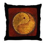 """The Ying Yang of it"" Throw Pillow"