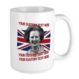 CUSTOM TEXT Thatcher UK Mug