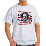 CUSTOM TEXT Thatcher UK T-Shirt