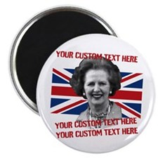 CUSTOM TEXT Thatcher UK Magnet