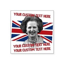 CUSTOM TEXT Thatcher UK Sticker