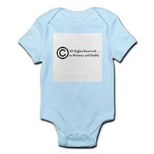 Copyright Infant Creeper