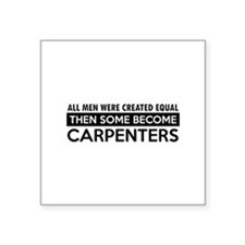 """Carpenter Designs Square Sticker 3"""" x 3"""""""