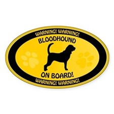 Bloodhound On Board Decal