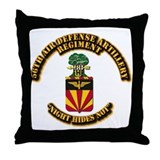 COA - 56th Air Defense Artillery Regiment Throw Pi