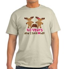 40th Anniversary Moose T-Shirt