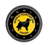 Bernese Person Wall Clock