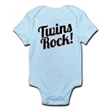Twins Rock! Body Suit