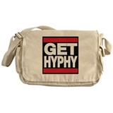 get hyphy lg red Messenger Bag