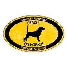 Beagle On Board Decal