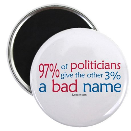 Anti-Government Politician Magnet
