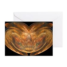 Flame Fractal Greeting Cards (Pk of 10)