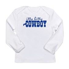 Itty Bitty Cowboy Long Sleeve Infant T-Shirt