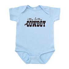 Itty Bitty Cowboy Infant Bodysuit