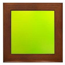 Lemon Citrus Framed Tile