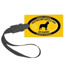 Cattle Dog On Board Luggage Tag