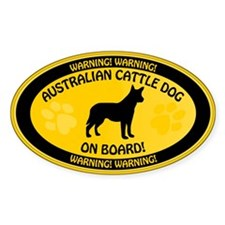 Cattle Dog On Board Decal