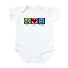 Peace Love Banking Infant Bodysuit