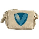 Super V Super Hero Design Messenger Bag