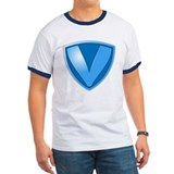 Super V Super Hero Design T-Shirt
