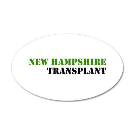 NH Transplant Wall Decal