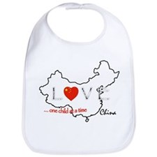 Cool China adoption Bib