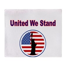 United We Stand, With Flag and Statue of Liberty T