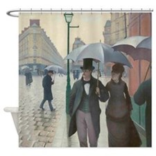 Caillebotte Paris Street Shower Curtain