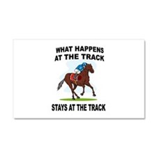 HORSE RACING Car Magnet 20 x 12